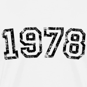 Year 1978 Birthday Design Vintage Anniversary T-Shirts - Men's Premium T-Shirt