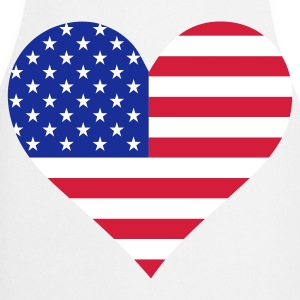 A heart for America  Aprons - Cooking Apron