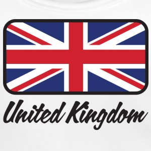 Nationale Storbritanniens flag Accessories - Baby økologisk hagesmæk