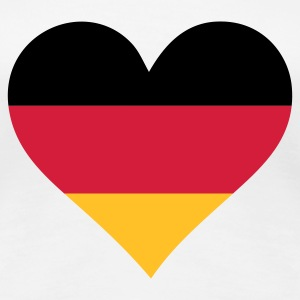 A Heart for Germany T-Shirts - Women's Premium T-Shirt