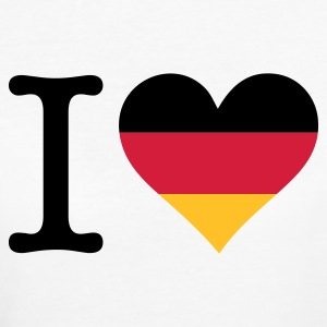 I love Allemagne Tee shirts - T-shirt Bio Femme