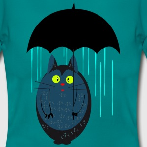 Cat with umbrella T-Shirts - Women's T-Shirt