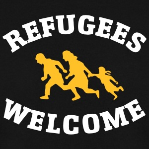 Refugees Welcome Pullover & Hoodies - Männer Pullover