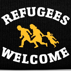Refugees Welcome Caps & Hats - Winter Hat