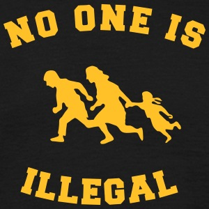 no one is illegal Magliette - Maglietta da uomo