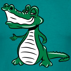 Crocodile cool sunglasses T-Shirts - Men's T-Shirt