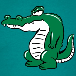 crocodile head T-Shirts - Men's T-Shirt