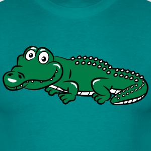 crocodile funny T-Shirts - Men's T-Shirt