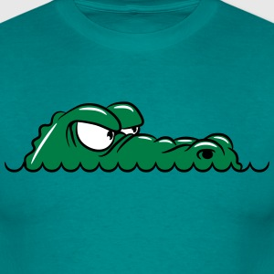 Crocodile humorous funny T-Shirts - Men's T-Shirt