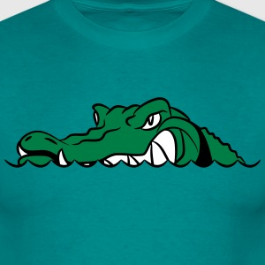 Crocodile funny fun wedding sunglasses thumb T-Shirts - Men's T-Shirt
