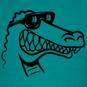 Crocodile fun funny T-Shirts - Men's T-Shirt