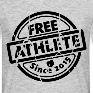 Free Athlete Since 2015 - Männer T-Shirt