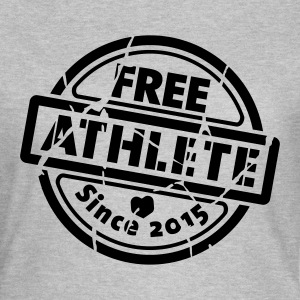 Free Athlete Since 2015 - Frauen T-Shirt
