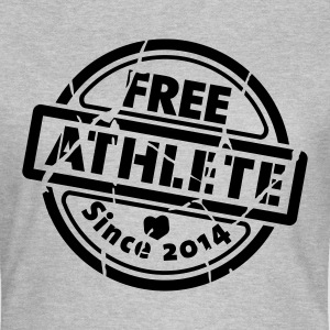 Free Athlete Since 2014 - Frauen T-Shirt