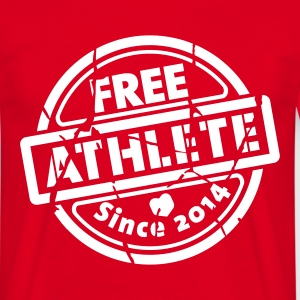 Free Athlete Since 2014 - Männer T-Shirt