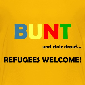 Refugees Welcome T-Shirts - Teenager Premium T-Shirt
