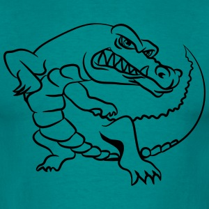 Crocodile funny sweet T-Shirts - Men's T-Shirt