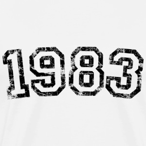 Year 1983 Birthday Design Vintage Anniversary T-Shirts - Men's Premium T-Shirt