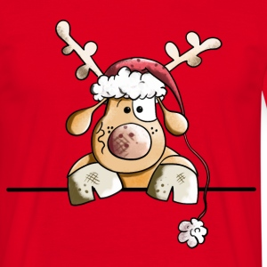 Rufus The Reindeer T-Shirts - Men's T-Shirt