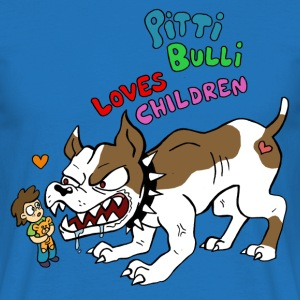 Pitti Bulli Loves Children - Männer T-Shirt