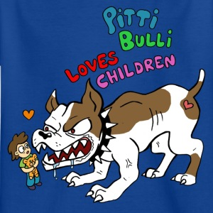 Pitti Bulli Loves Children - Kinder T-Shirt