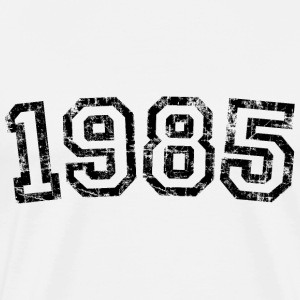 Year 1985 Birthday Design Vintage Anniversary T-Shirts - Men's Premium T-Shirt