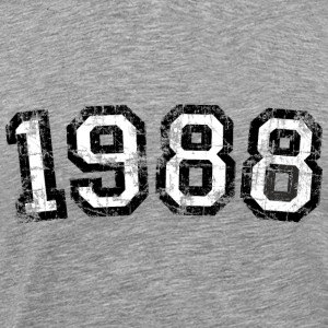 Year 1988 Birthday Design Vintage Anniversary T-Shirts - Men's Premium T-Shirt