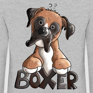 Bosco the Boxer Long Sleeve Shirts - Kids' Premium Longsleeve Shirt