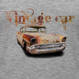 vintage car Tops - Vrouwen Premium tank top