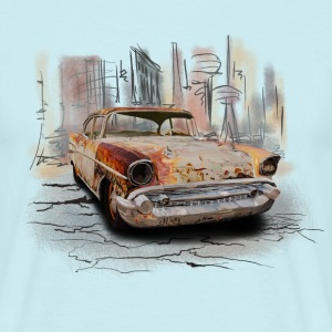 vintage car Tee shirts - T-shirt Homme