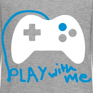 Play with me / Konsole / Gaming / Controller - Teenager Premium Langarmshirt