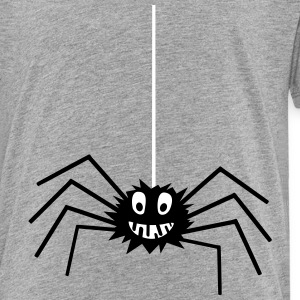 Spinne Comic lustig - Kinder Premium T-Shirt