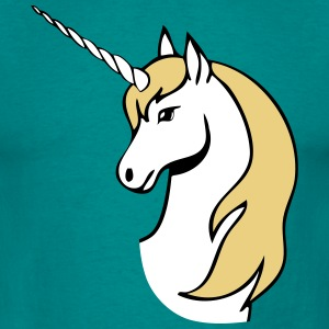 Unicorn fairytale head T-Shirts - Men's T-Shirt