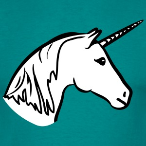 Unicorn head T-Shirts - Men's T-Shirt