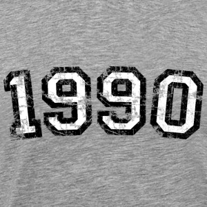 Year 1990 Birthday Design Vintage Anniversary T-Shirts - Men's Premium T-Shirt