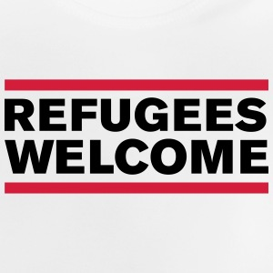 politik refugees welcome T-Shirts - Baby T-Shirt