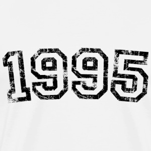 Year 1995 Birthday Design Vintage Anniversary T-Shirts - Men's Premium T-Shirt