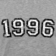 Year 1996 Birthday Design Vintage Anniversary T-Shirts