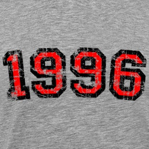 Year 1996 Birthday Design Vintage Anniversary T-Shirts - Men's Premium T-Shirt