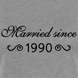Married since 1990 T-Shirts - Frauen Premium T-Shirt