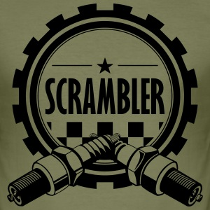 Scrambler - Männer Slim Fit T-Shirt