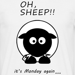 Oh Sheep! Its monday again - Men's T-Shirt