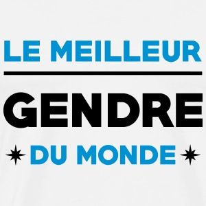 Gendre / Fille / Marie / Mariage / Beau-fils Tee shirts - T-shirt Premium Homme