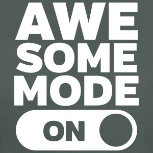 Awesome Mode (On) Camisetas - Camiseta ecológica mujer