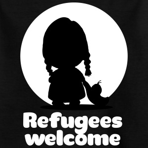 Refugees welcome T-Shirts - Kinder T-Shirt