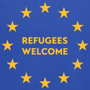 Refugees welcome in EU Tops - Frauen Tank Top von Bella