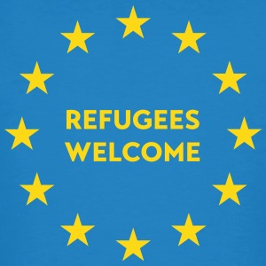 Refugees welcome in EU Tee shirts - T-shirt bio Homme