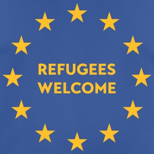 Refugees welcome in EU T-Shirts - Männer T-Shirt atmungsaktiv
