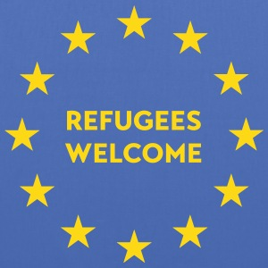 Refugees welcome in EU Bags & Backpacks - Tote Bag