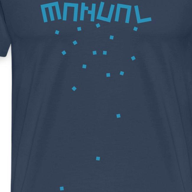 Manual 'Blocks' Navy/Blue